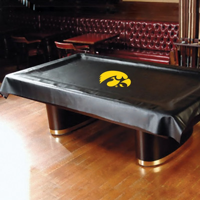 Iowa Hawkeyes Pool Table Cover