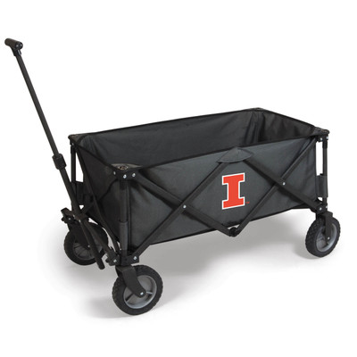 Illinois Fighting Illini Portable Adventure Wagon