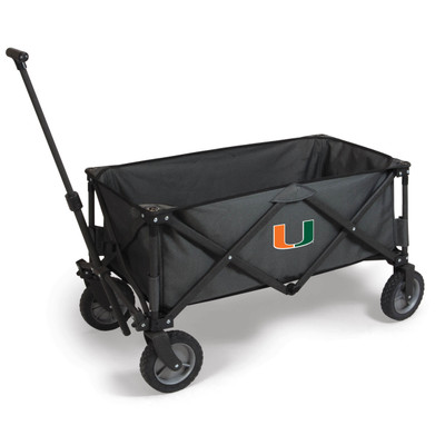Miami Hurricanes Portable Adventure Wagon
