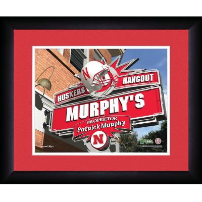 Nebraska Huskers Personalized Pub Print