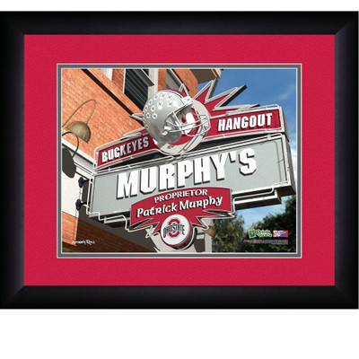 Ohio State Buckeyes Personalized Pub Print