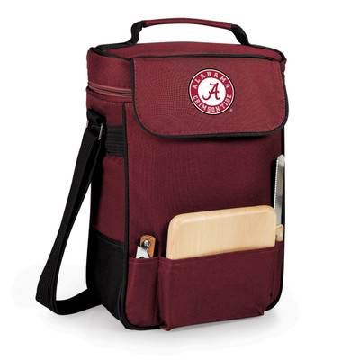 Alabama Crimson Tide Duet Wine and Cheese Picnic Tote