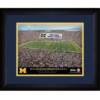 Michigan Wolverines Personalized Stadium Print