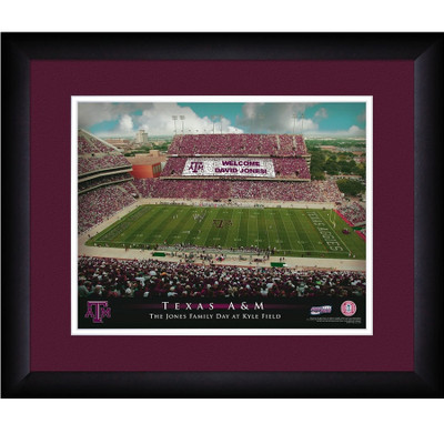 Texas A&M Aggies Personalized Stadium Print