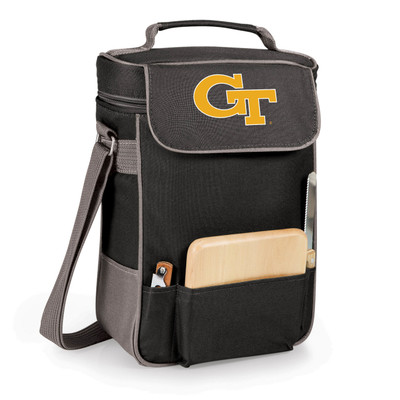 Georgia Tech Yellow Jackets Duet Wine and Cheese Picnic Tote