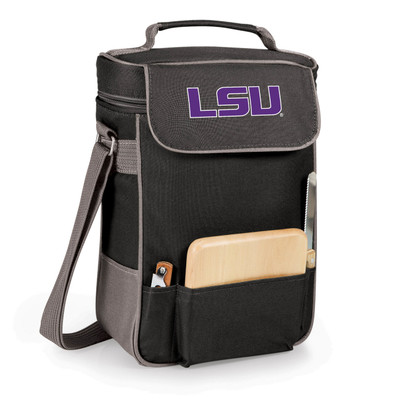 LSU Tigers Duet Wine and Cheese Picnic Tote