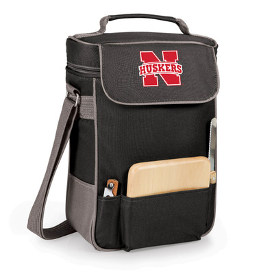 Nebraska Huskers Duet Wine and Cheese Picnic Tote