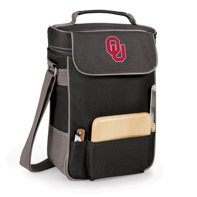 Oklahoma Sooners Duet Wine and Cheese Picnic Tote
