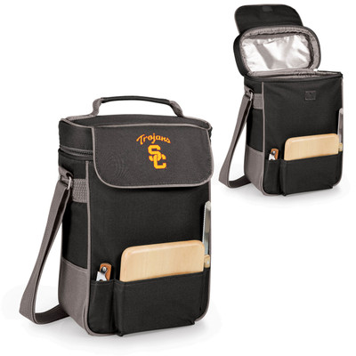 USC Trojans Duet Wine and Cheese Picnic Tote