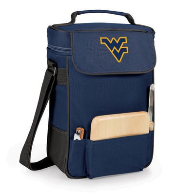 West Virginia Mountaineers Duet Wine and Cheese Picnic Tote