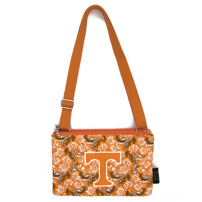 Tennessee Volunteers Quilted Cotton Crossbody Purse