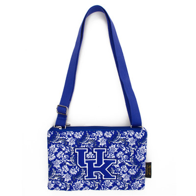 Kentucky Wildcats Quilted Cotton Crossbody Purse