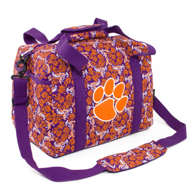Clemson Tigers Quilted Cotton Mini Duffle Bag
