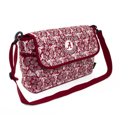 Alabama Crimson Tide Quilted Cotton Messenger Bag
