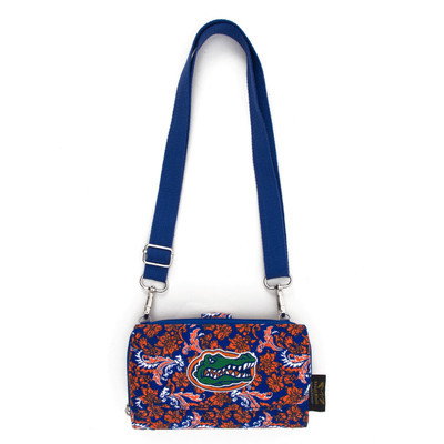 Florida Gators Quilted Cotton Cross Body Wallet