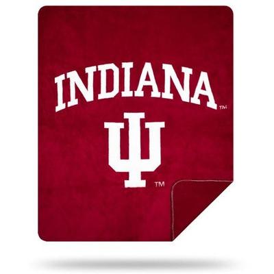 Indiana Hoosiers Luxurious Stadium Blanket