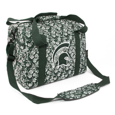 MSU Spartans Quilted Cotton Mini Duffle Bag