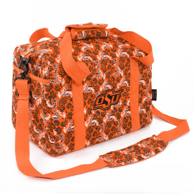 Oklahoma State Cowboys Quilted Cotton Mini Duffle Bag