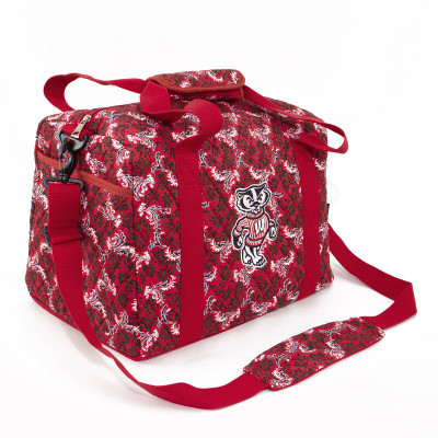 Wisconsin Badgers Quilted Cotton Mini Duffle Bag
