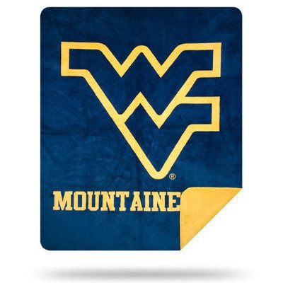West Virginia Mountaineers Luxurious Stadium Blanket