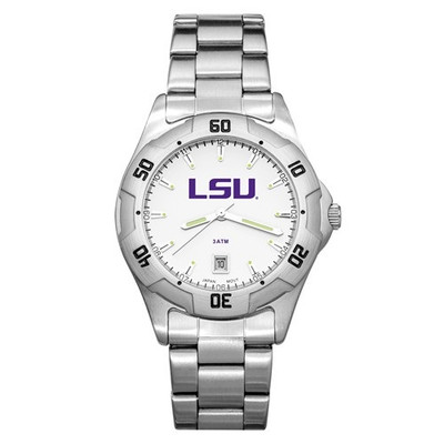 LSU Tigers Men's All-Pro Men's Chrome Watch