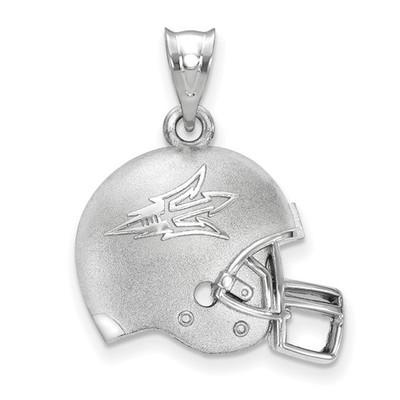 Arizona State Sun Devils Sterling Silver 3D Football Helmet Pendant