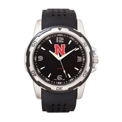 Nebraska Huskers Men's Stealth Sports Watch
