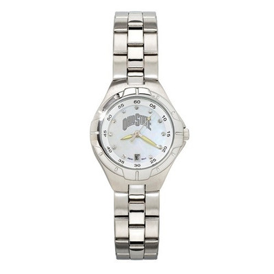 Ohio State Buckeyes Women's Pearl Watch