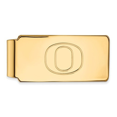 Oregon Ducks 14K Gold Money Clip