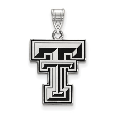 Texas Tech Red Raiders Enamel Pendant