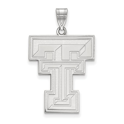 Texas Tech Red Raiders Sterling Silver Pendant