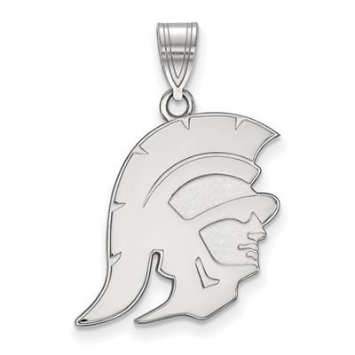 USC Trojans Sterling Silver Trojan Pendant