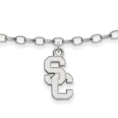 USC Trojans Sterling Silver Ankle Bracelet