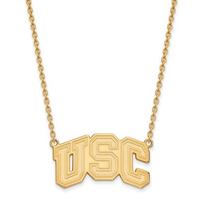 USC Trojans 14K Gold Necklace