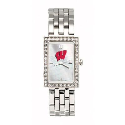 Wisconsin Badgers Women's Allure Stainless Steel Watch