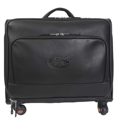 Florida Gators Leather Wheeled Overnight Bag