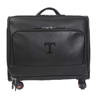 Tennessee Volunteers Leather Wheeled Overnight Bag