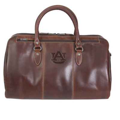Auburn Tigers Leather Niagara Canyon Duffle Bag
