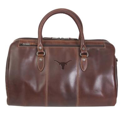 Texas Longhorns Leather Niagara Canyon Duffle Bag