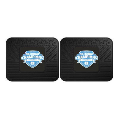 UNC Tar Heels National Champions Utility Car Mats Set of Two