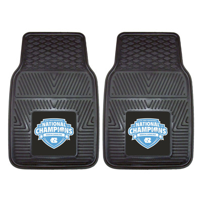 UNC Tar Heels National Champions Heavy Duty Car Mats
