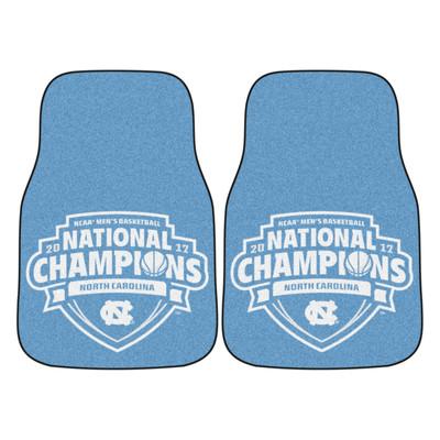 UNC Tar Heels National Champions Carpet Floor Mats