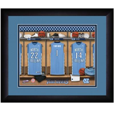 UNC Tar Heels Personalized Locker Room Print | Get Letter Art | NCARLOCKER