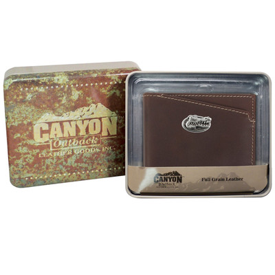 Florida Gators Leather Bi Fold Wallet
