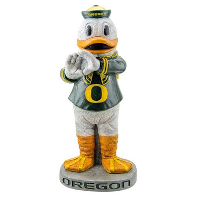 Oregon Ducks Mascot Garden Statue Puddles