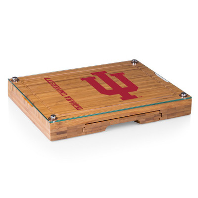 Indiana Hoosiers Concerto Bamboo Cutting Board