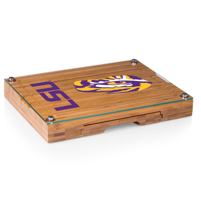 LSU Tigers Concerto Bamboo Cutting Board