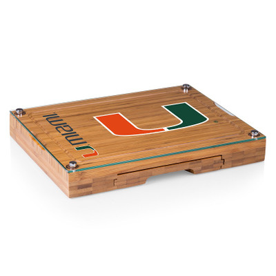 Miami Hurricanes Concerto Bamboo Cutting Board