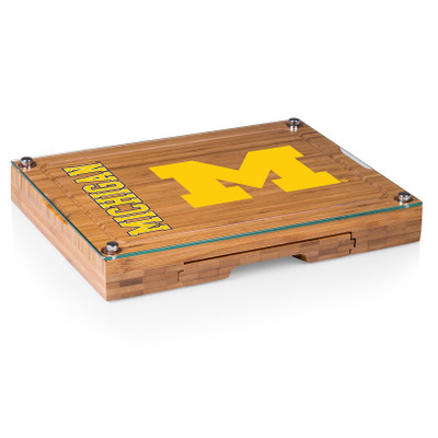 Michigan Wolverines Concerto Bamboo Cutting Board