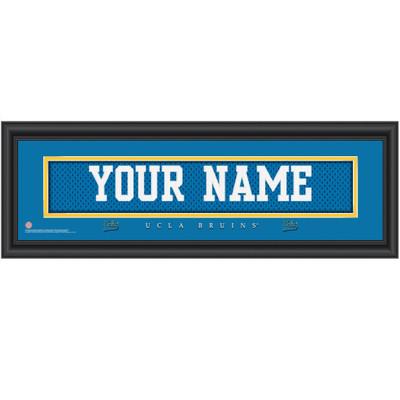 UCLA Bruins Personalized Jersey Stitch Print
